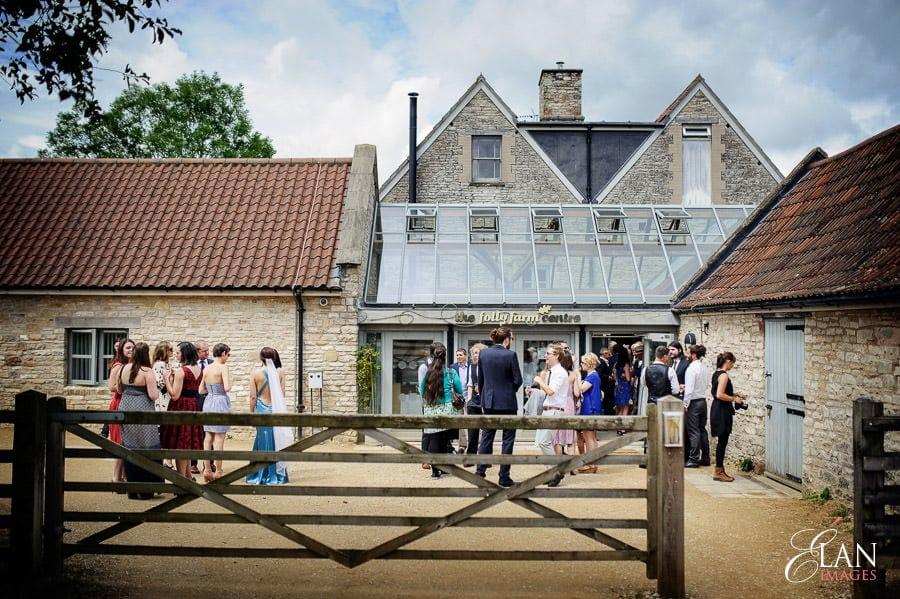 Folly Farm Centre Pensford Vintage Wedding 111
