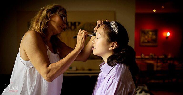 Wedding makeup artist Mel Kinsman – Notting Hill Wedding