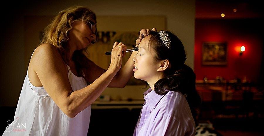 Wedding makeup artist Mel Kinsman - Notting Hill Wedding 1