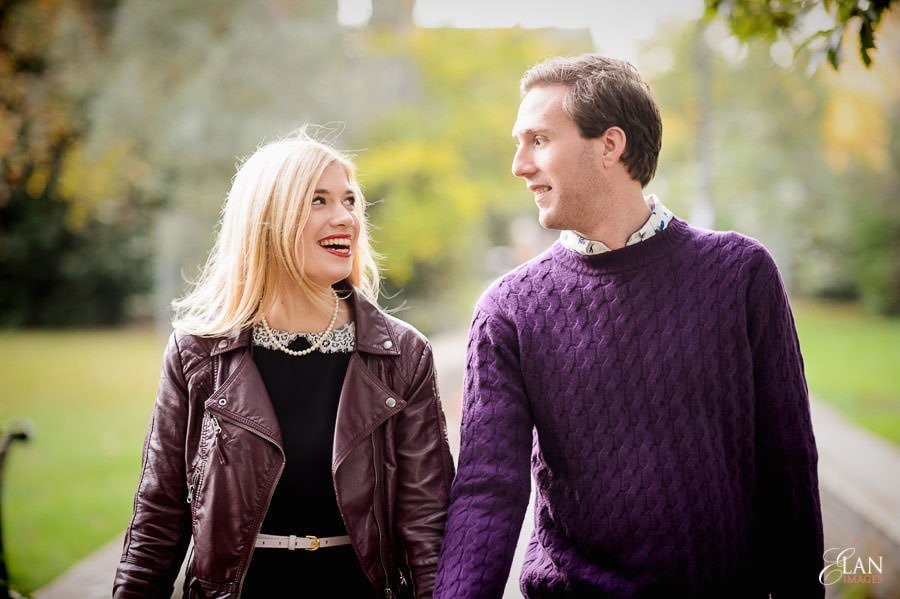 Engagement Photography in Clifton Village, Bristol