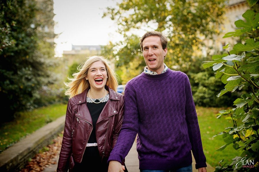 Engagement photo shoot in Clifton, Bristol 2