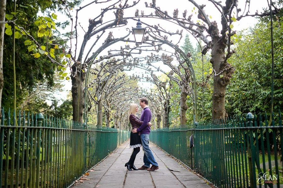 Engagement photo shoot in Clifton, Bristol 7