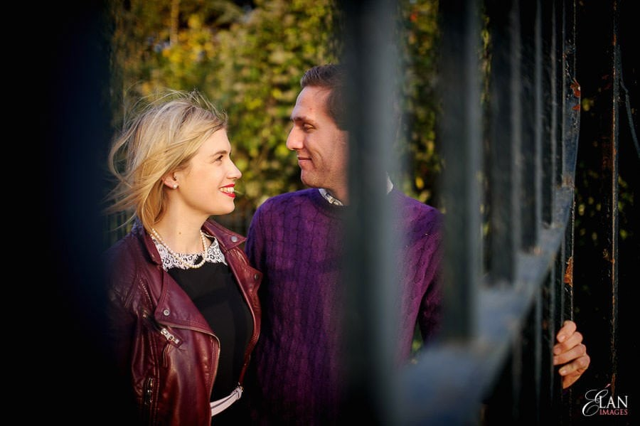 Engagement photo shoot in Clifton, Bristol 14