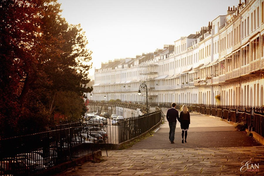 Engagement photo shoot in Clifton, Bristol 15