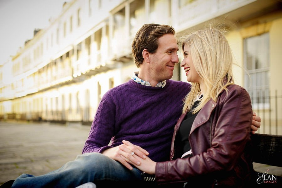 Engagement photo shoot in Clifton, Bristol 16