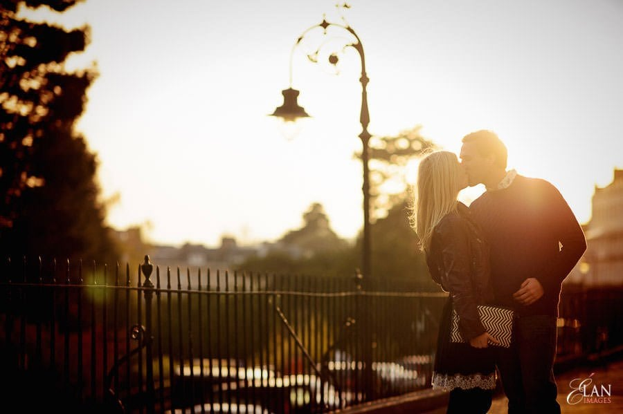 Engagement photo shoot in Clifton, Bristol 17