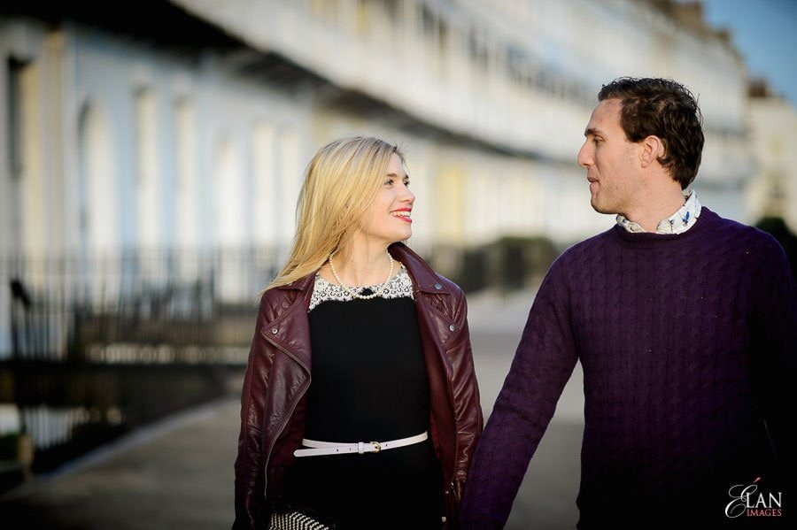 Engagement photo shoot in Clifton, Bristol 19