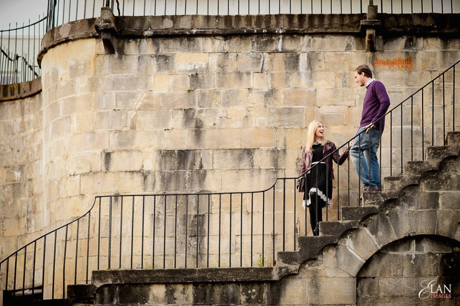 Engagement photo shoot in Clifton, Bristol 20