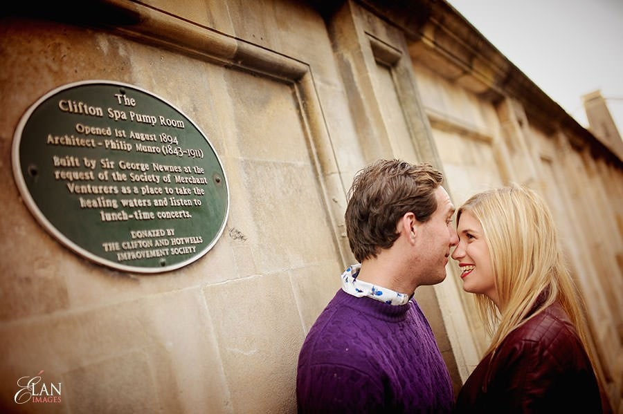 Engagement photo shoot in Clifton, Bristol 21