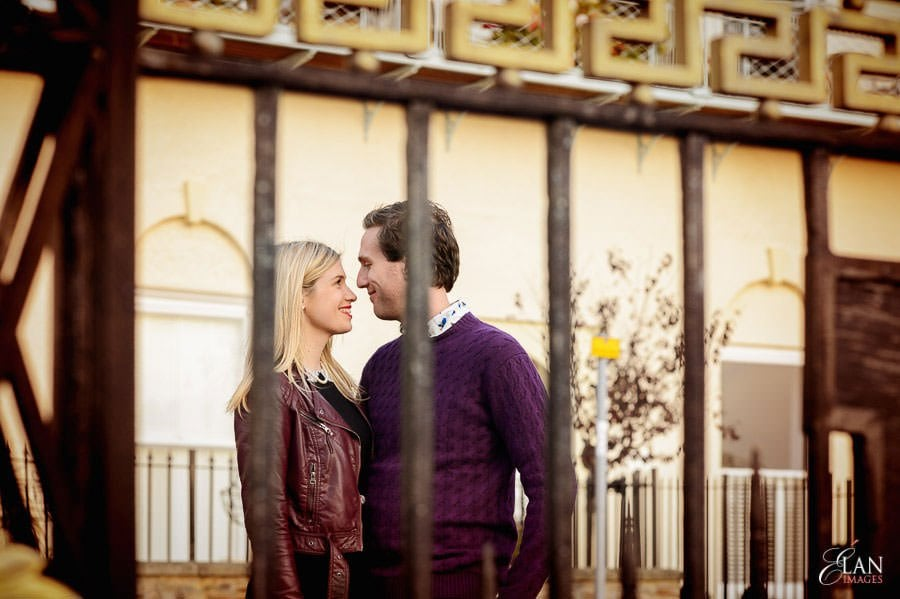 Engagement photo shoot in Clifton, Bristol 22