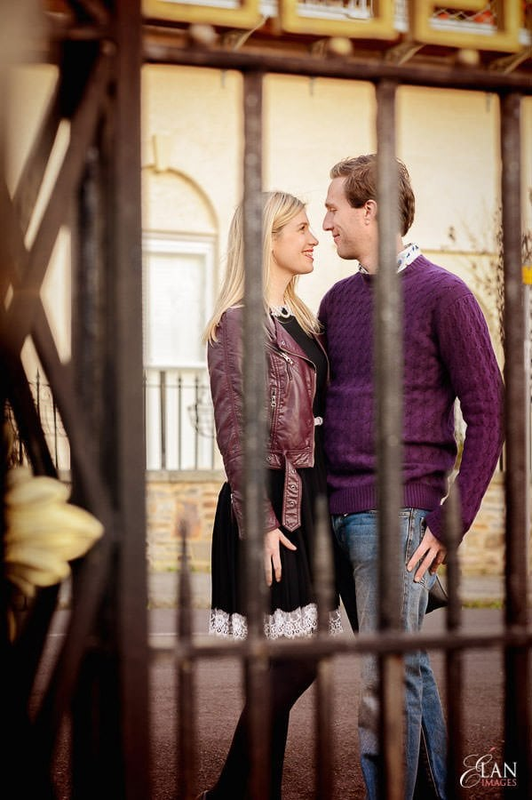 Engagement photo shoot in Clifton, Bristol 23