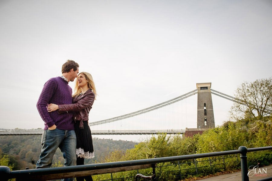 Engagement photo shoot in Clifton, Bristol 24
