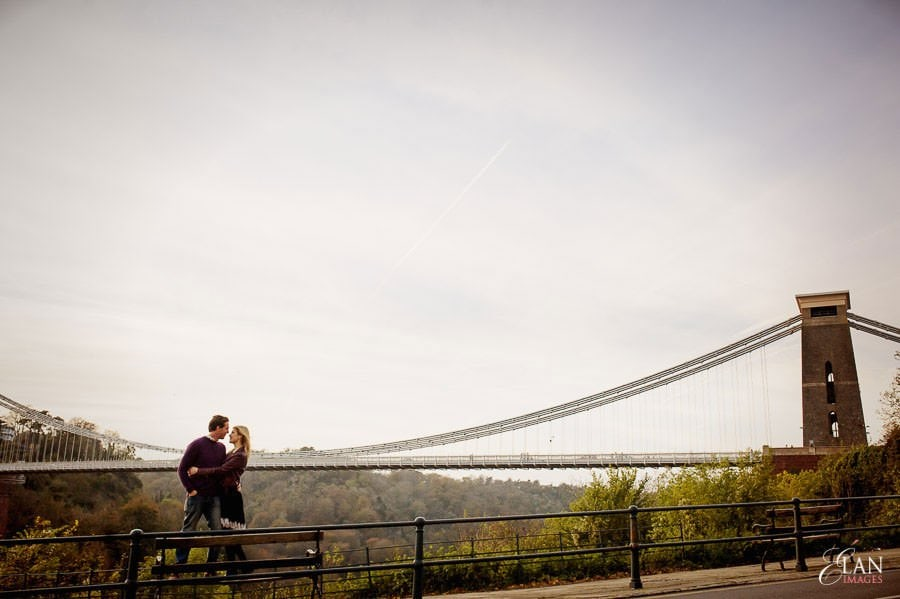 Engagement photo shoot in Clifton, Bristol 25