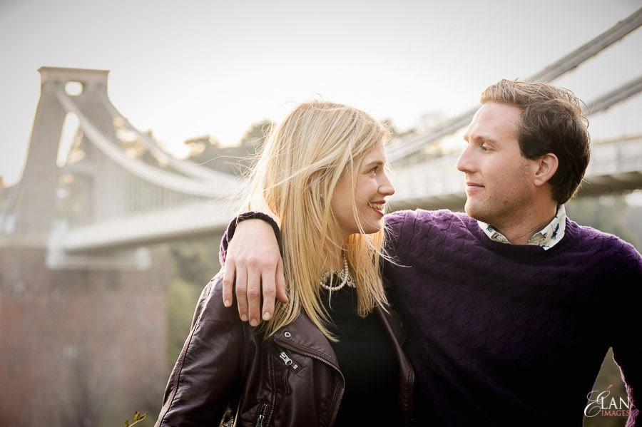 Engagement photo shoot in Clifton, Bristol 26
