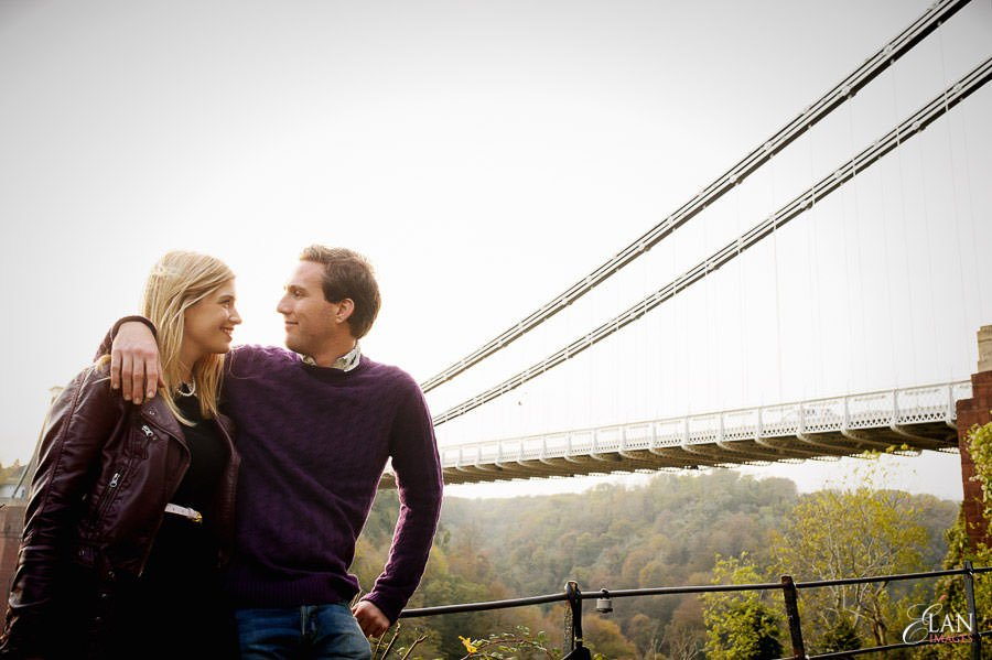Engagement photo shoot in Clifton, Bristol 27