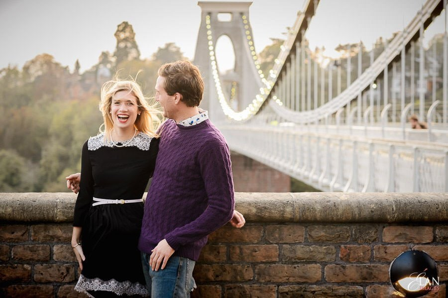 Engagement photo shoot in Clifton, Bristol 30