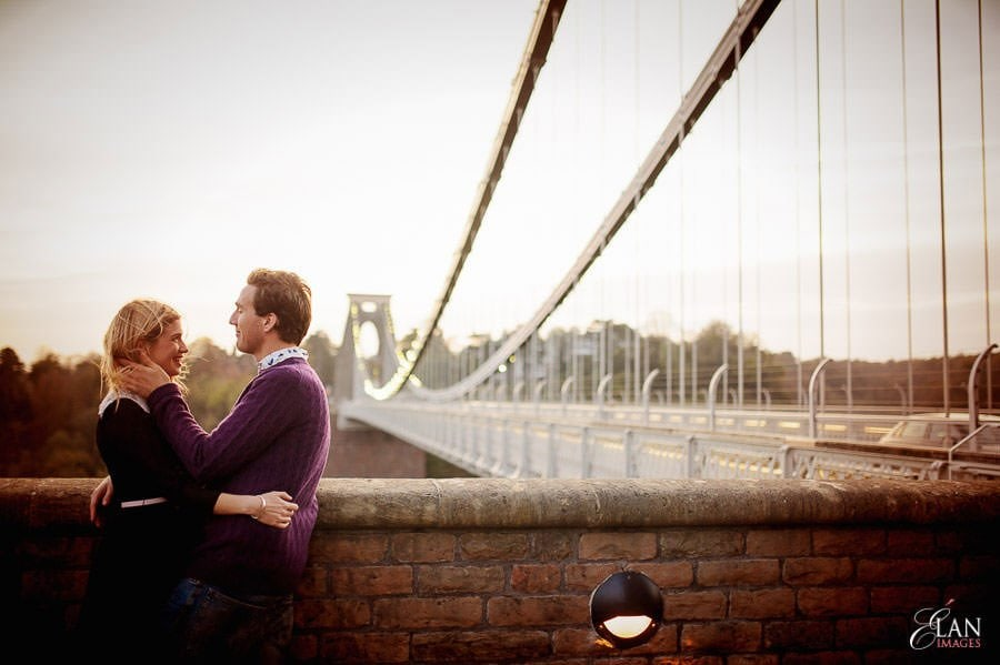 Engagement photo shoot in Clifton, Bristol 33
