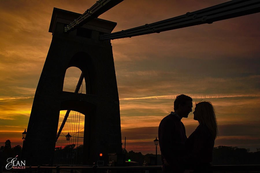 Engagement photo shoot in Clifton, Bristol 34