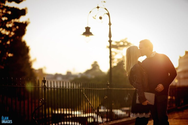 Engagement photo shoot in Clifton, Bristol