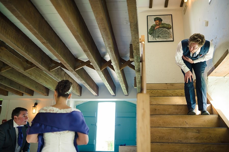 Winter Wedding at Priston Mill Watermill 22