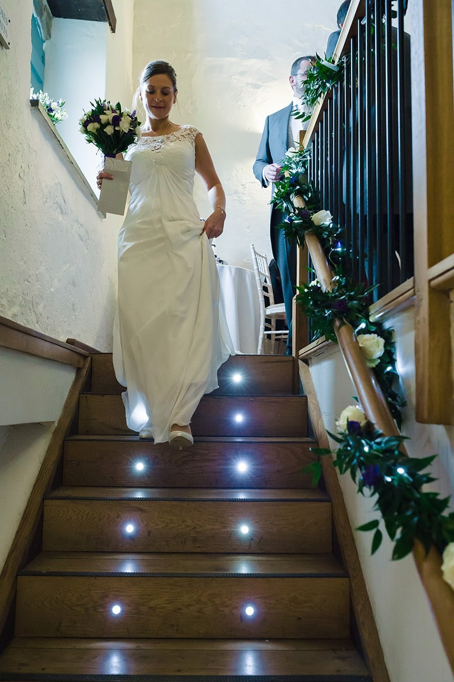 Winter Wedding at Priston Mill Watermill 46