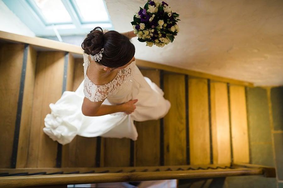 Winter Wedding at Priston Mill Watermill 47