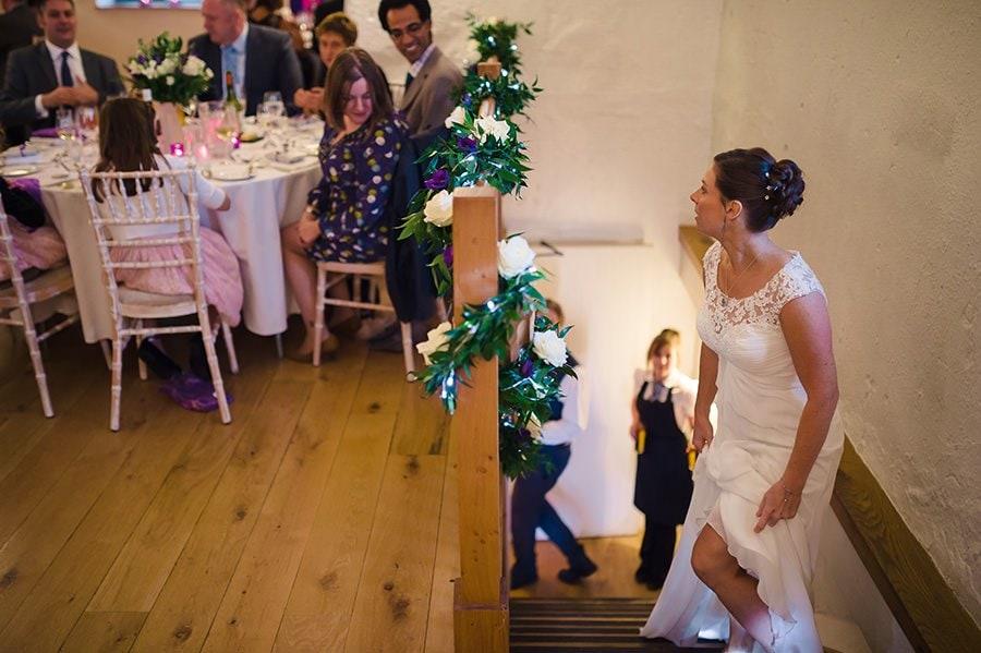 Winter Wedding at Priston Mill Watermill 87