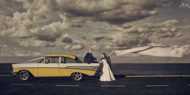 Wedding at Llanerchaeron