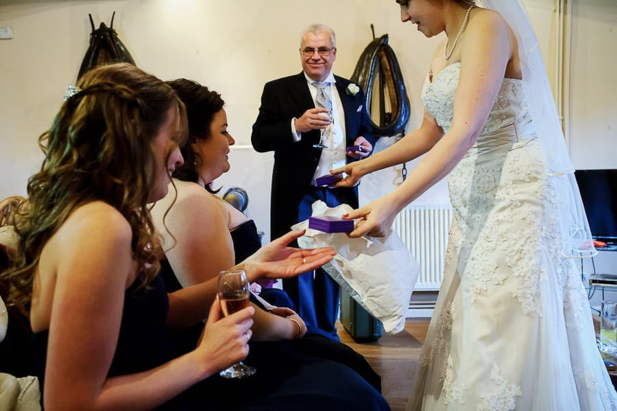 Great Tythe Barn Wedding, Tetbury 27