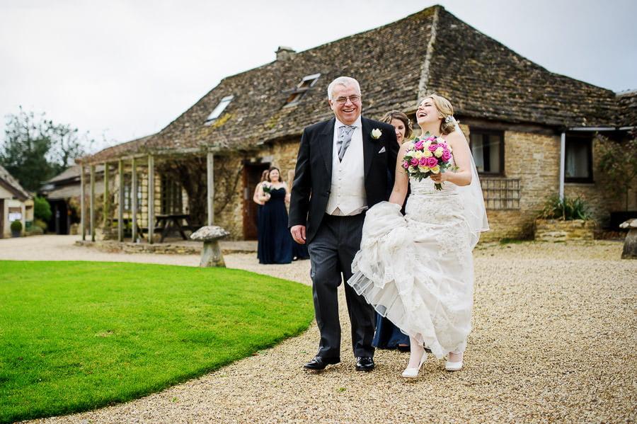 Great Tythe Barn Wedding, Tetbury 34