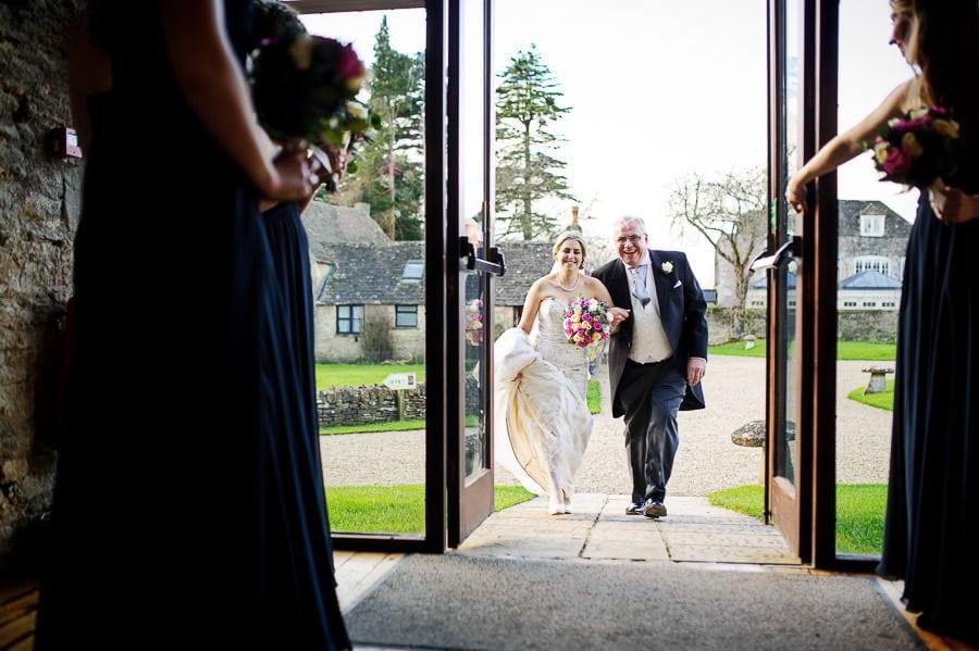 Great Tythe Barn Wedding, Tetbury 42