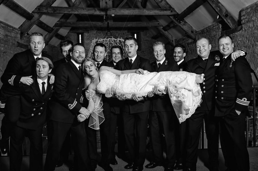 Great Tythe Barn Wedding, Tetbury 93