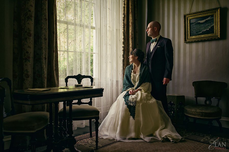 llanerchaeron wedding The John Nash Villa