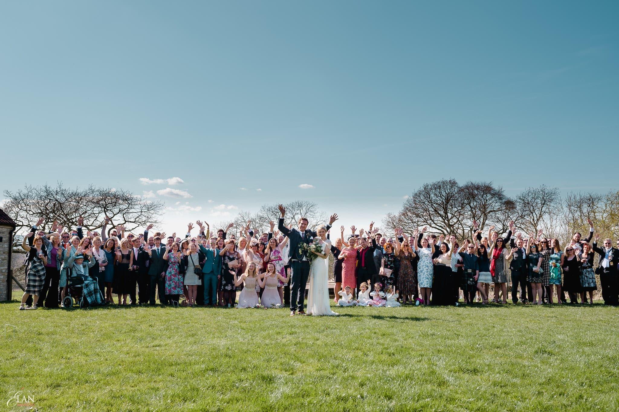 Spring Wedding at the Folly Farm Centre, Bristol 36