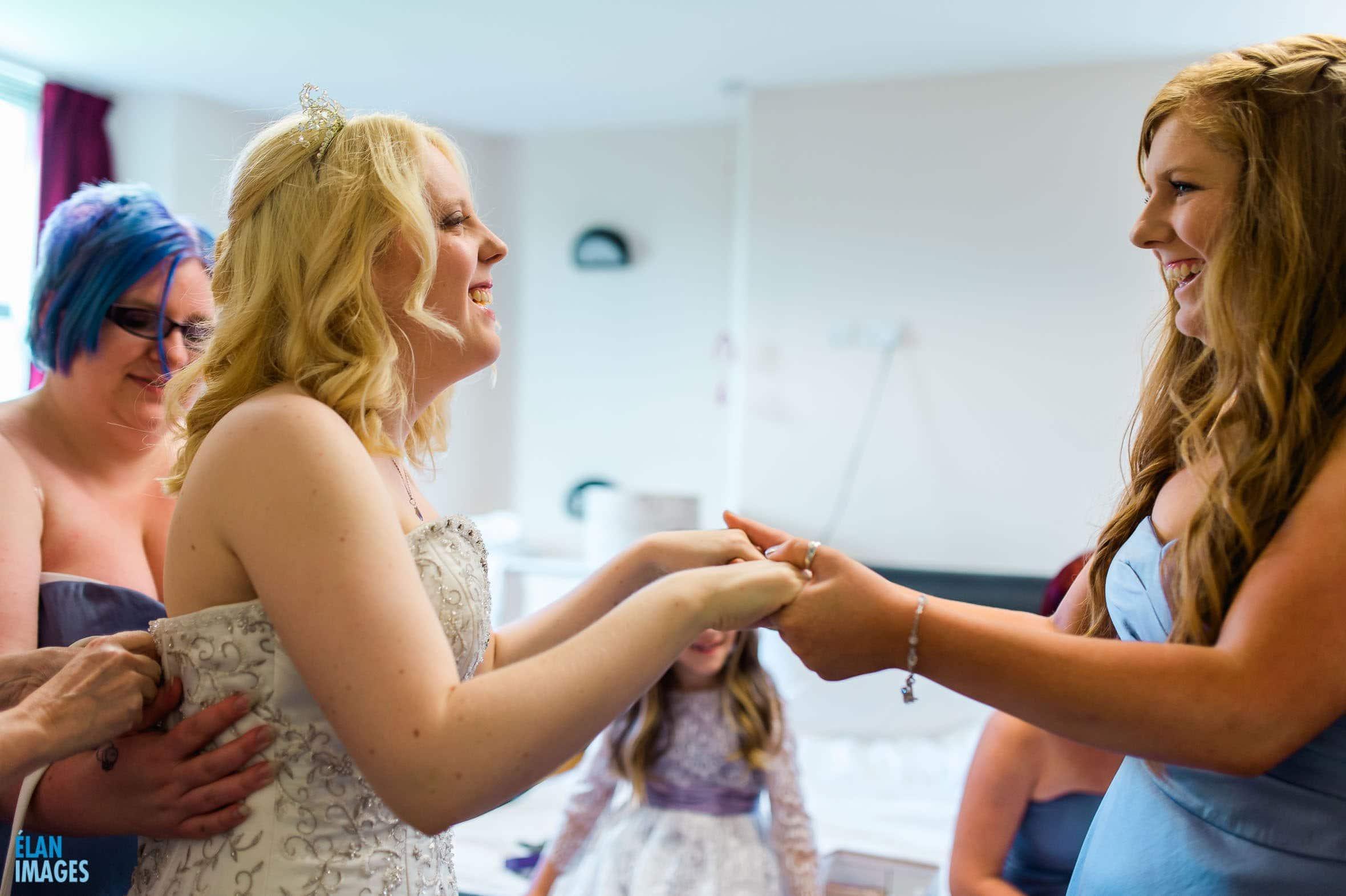 Summer Wedding at the Folly Farm Centre, Pensford 3