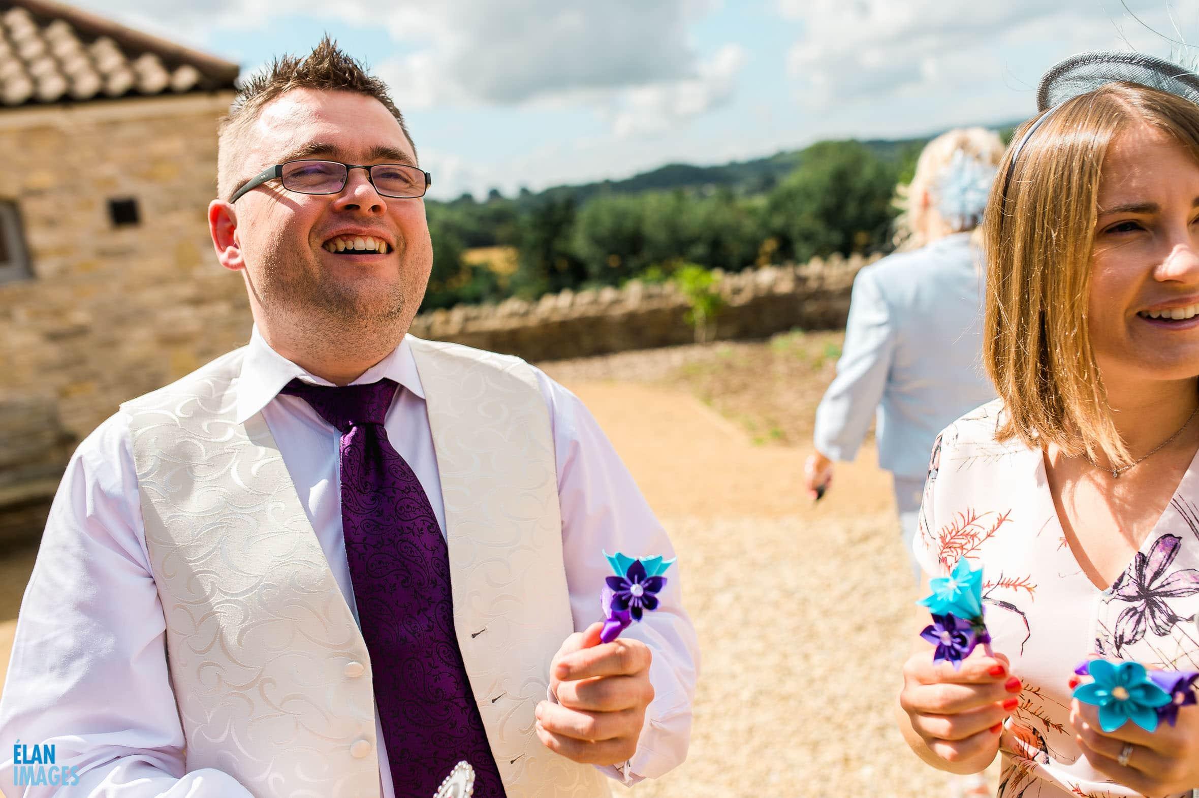 Summer Wedding at the Folly Farm Centre, Pensford 22