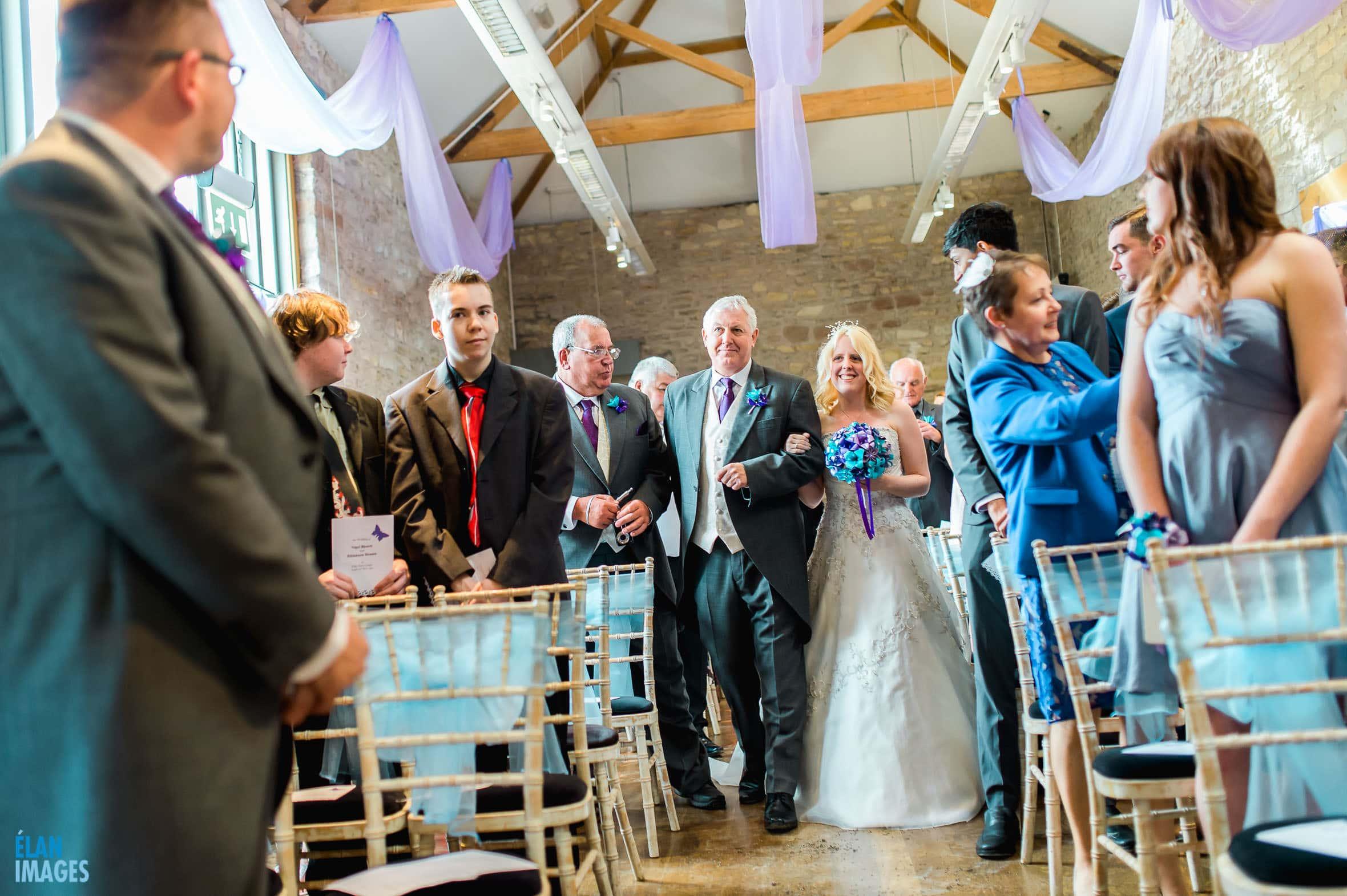 Summer Wedding at the Folly Farm Centre, Pensford 28