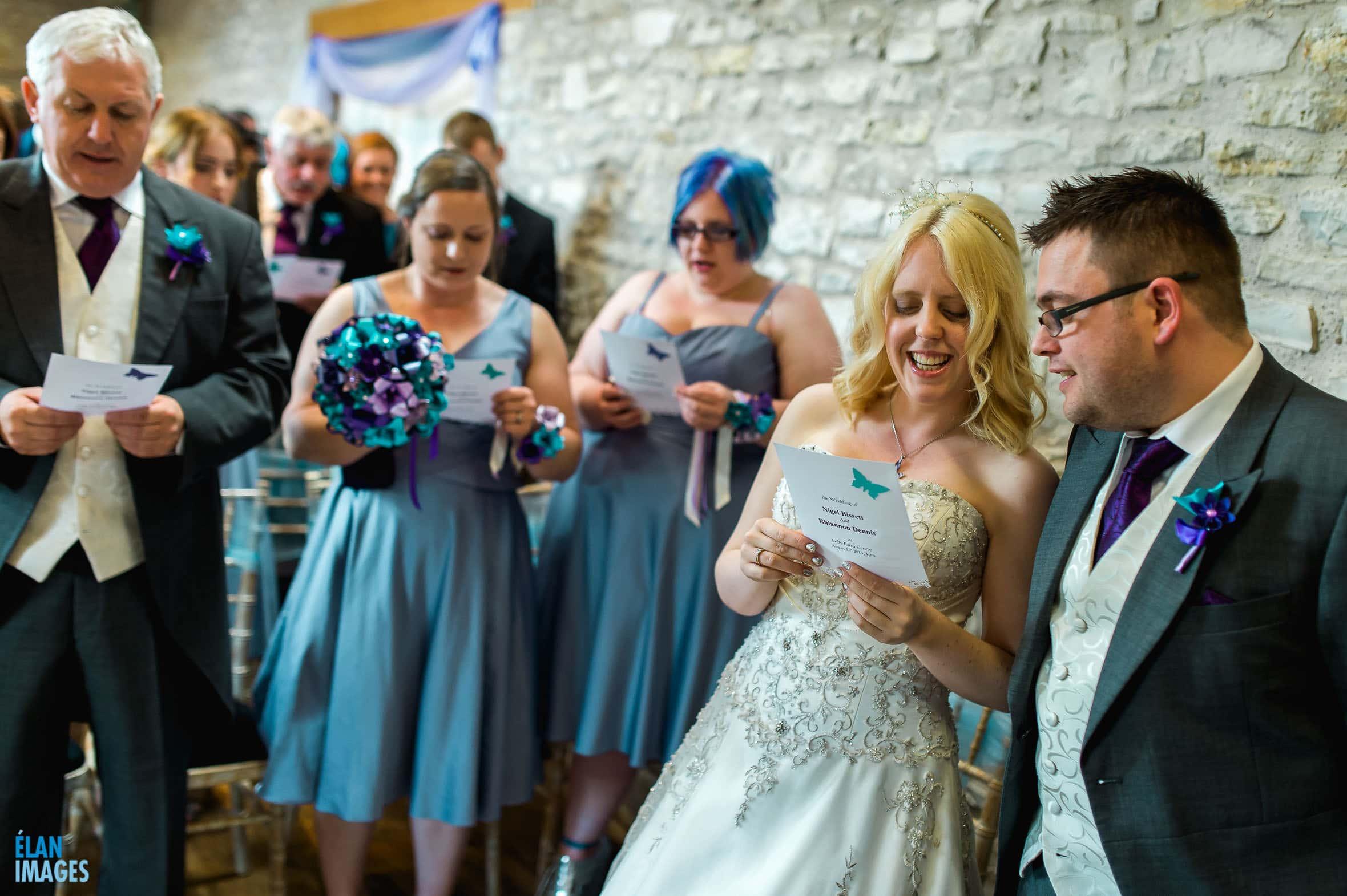 Summer Wedding at the Folly Farm Centre, Pensford 31