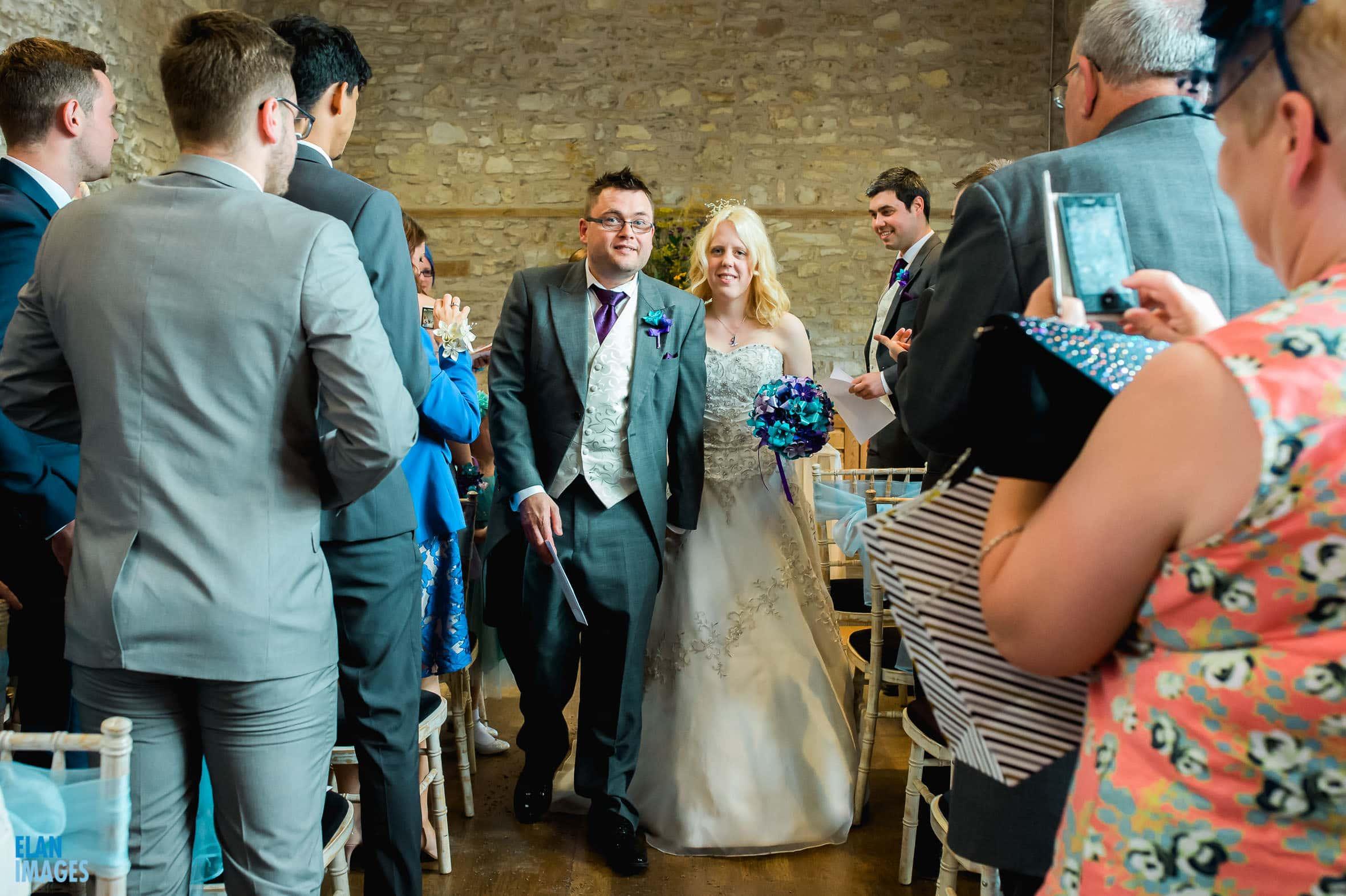 Summer Wedding at the Folly Farm Centre, Pensford 34