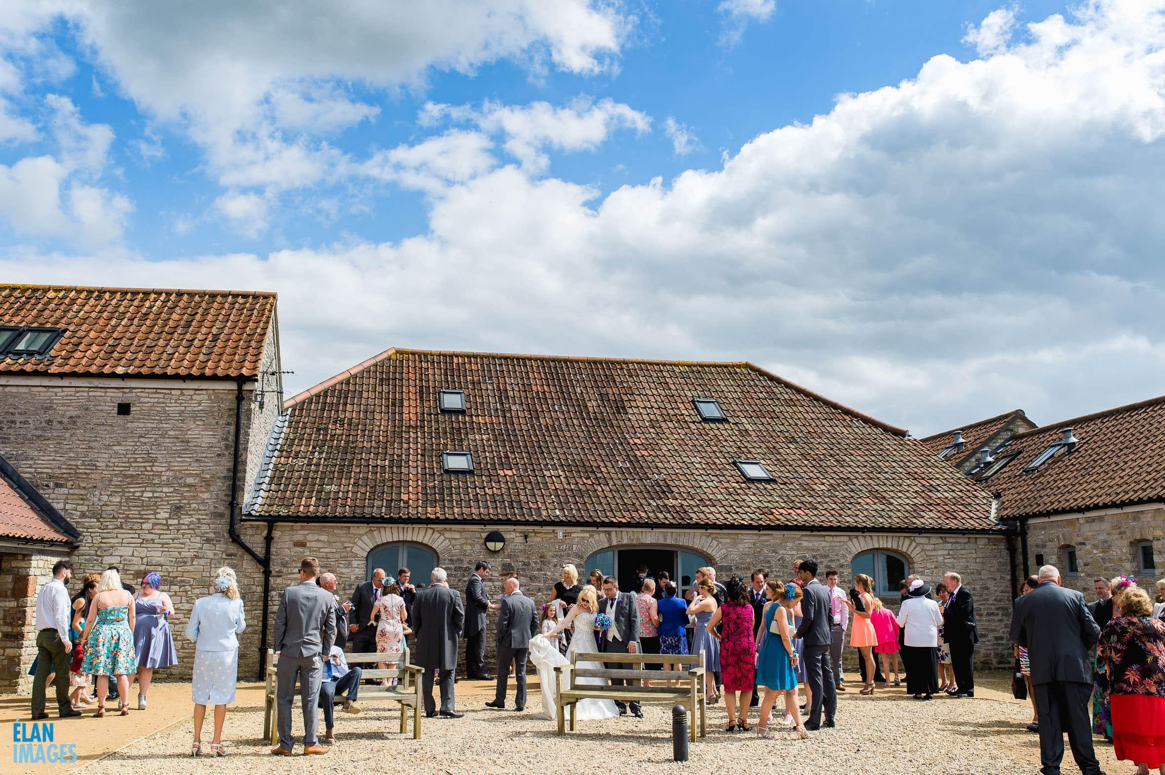 Summer Wedding at the Folly Farm Centre, Pensford 36