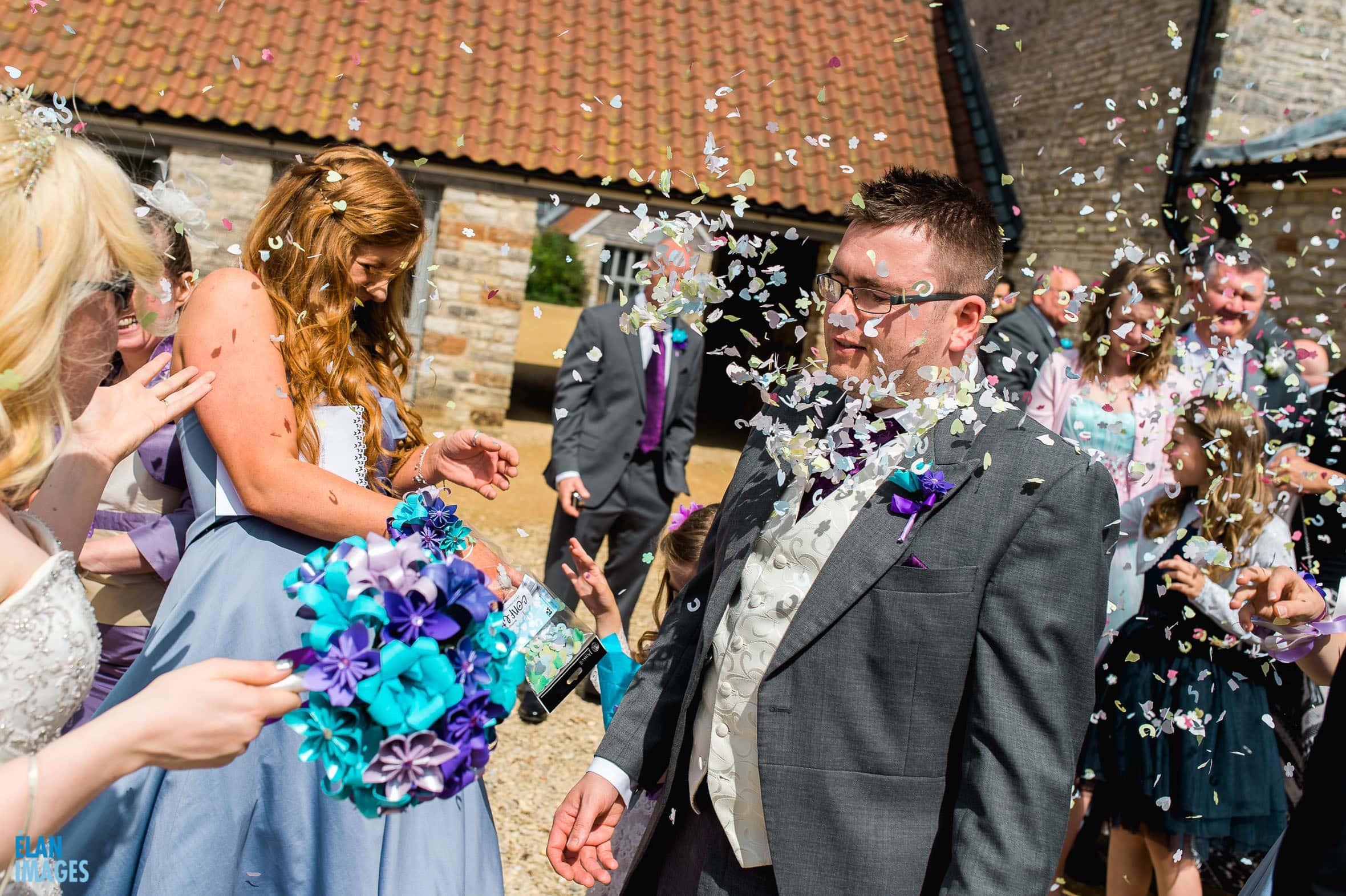 Summer Wedding at the Folly Farm Centre, Pensford 37