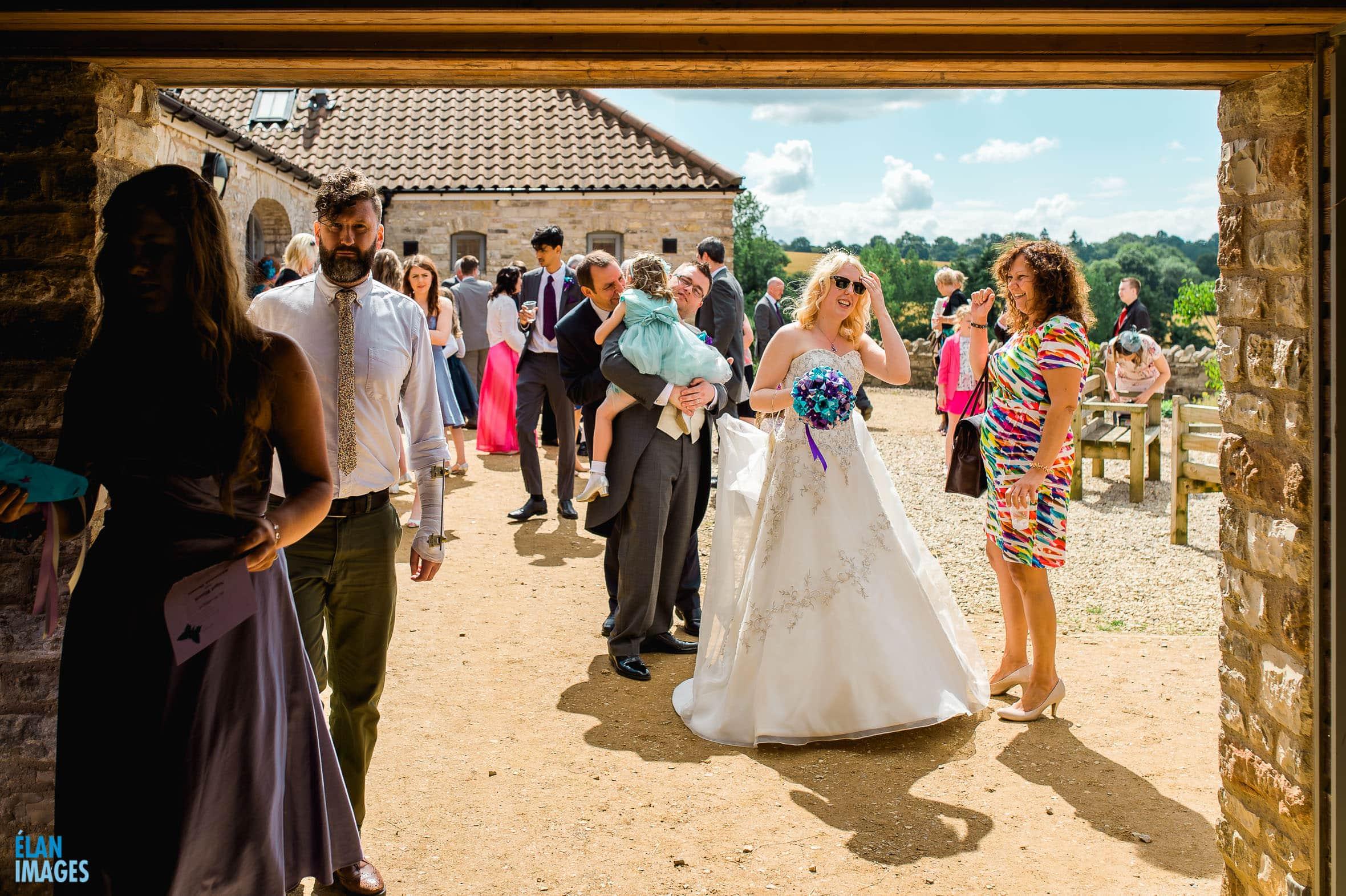 Summer Wedding at the Folly Farm Centre, Pensford 39