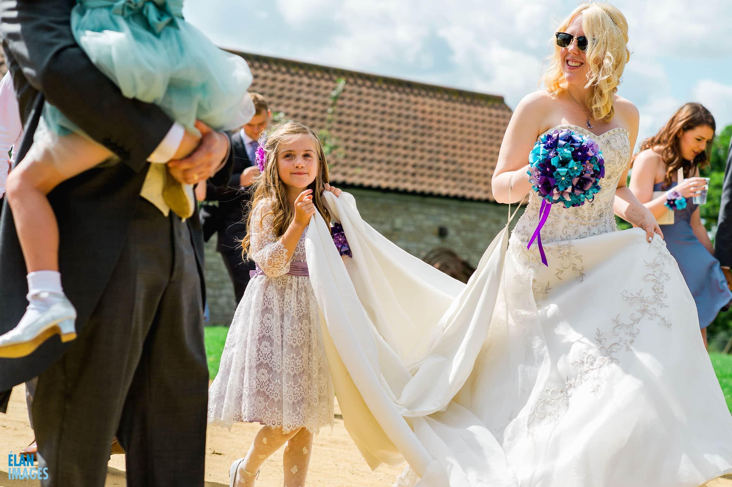 Summer Wedding at the Folly Farm Centre, Pensford 41