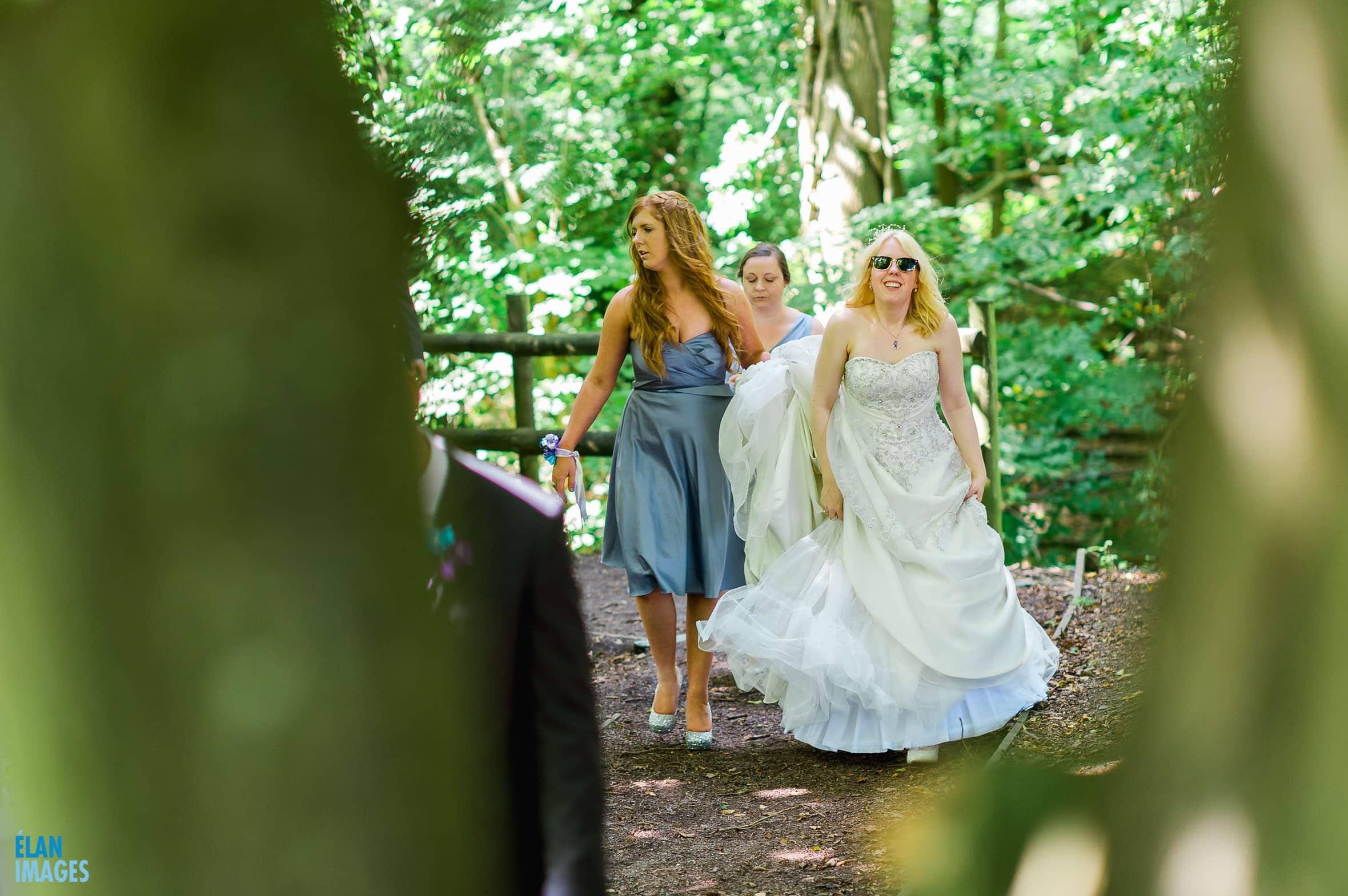 Summer Wedding at the Folly Farm Centre, Pensford 45
