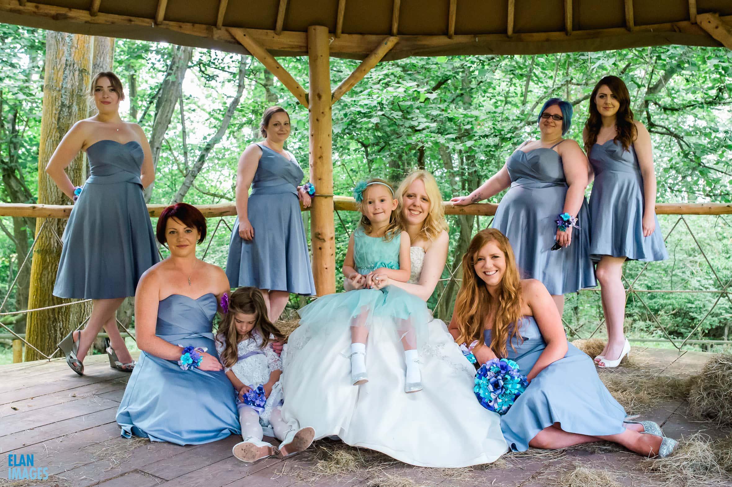 Summer Wedding at the Folly Farm Centre, Pensford 46