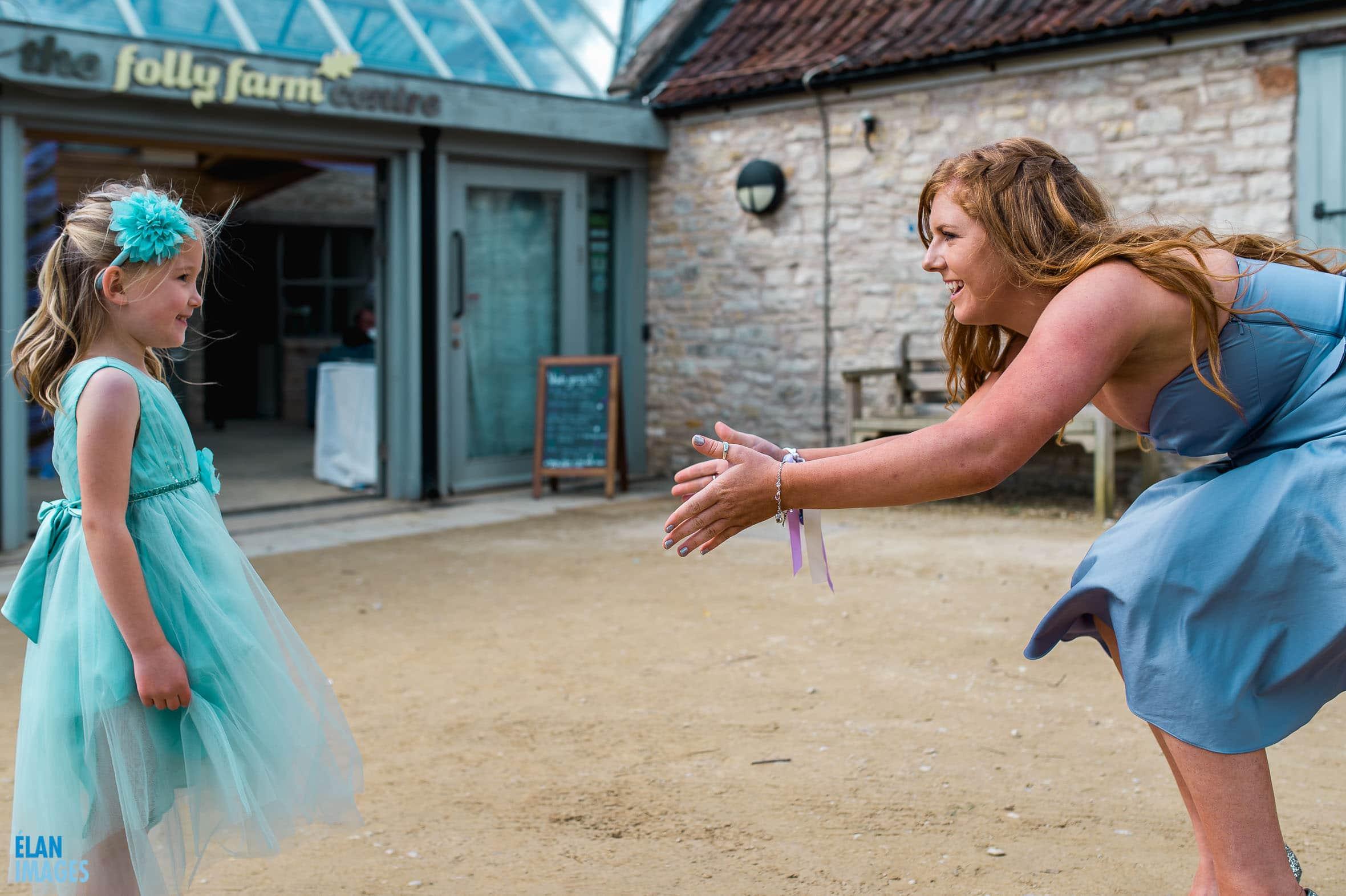 Summer Wedding at the Folly Farm Centre, Pensford 60