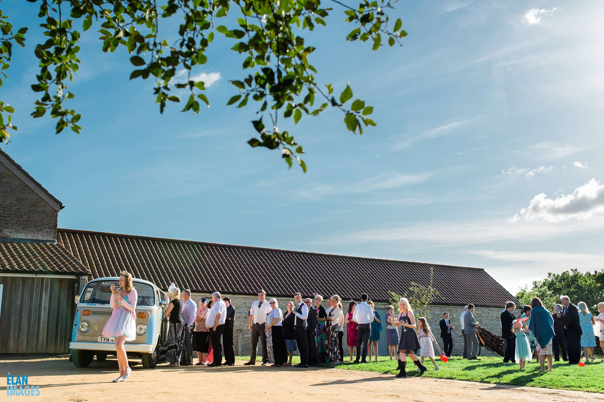 Summer Wedding at the Folly Farm Centre, Pensford 69