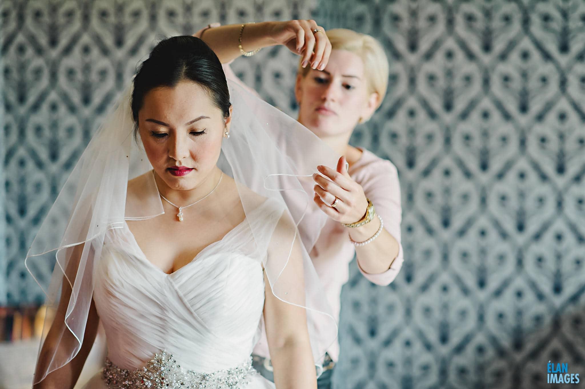 Homewood Park Wedding Bridal Preparations