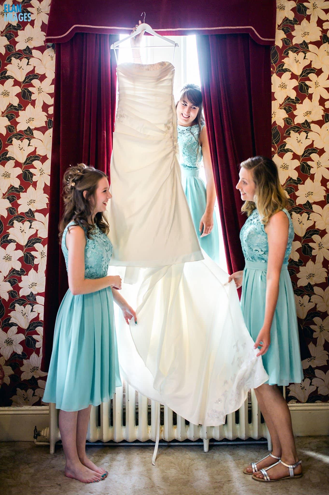 Wedding at Banwell Castle, Somerset 1