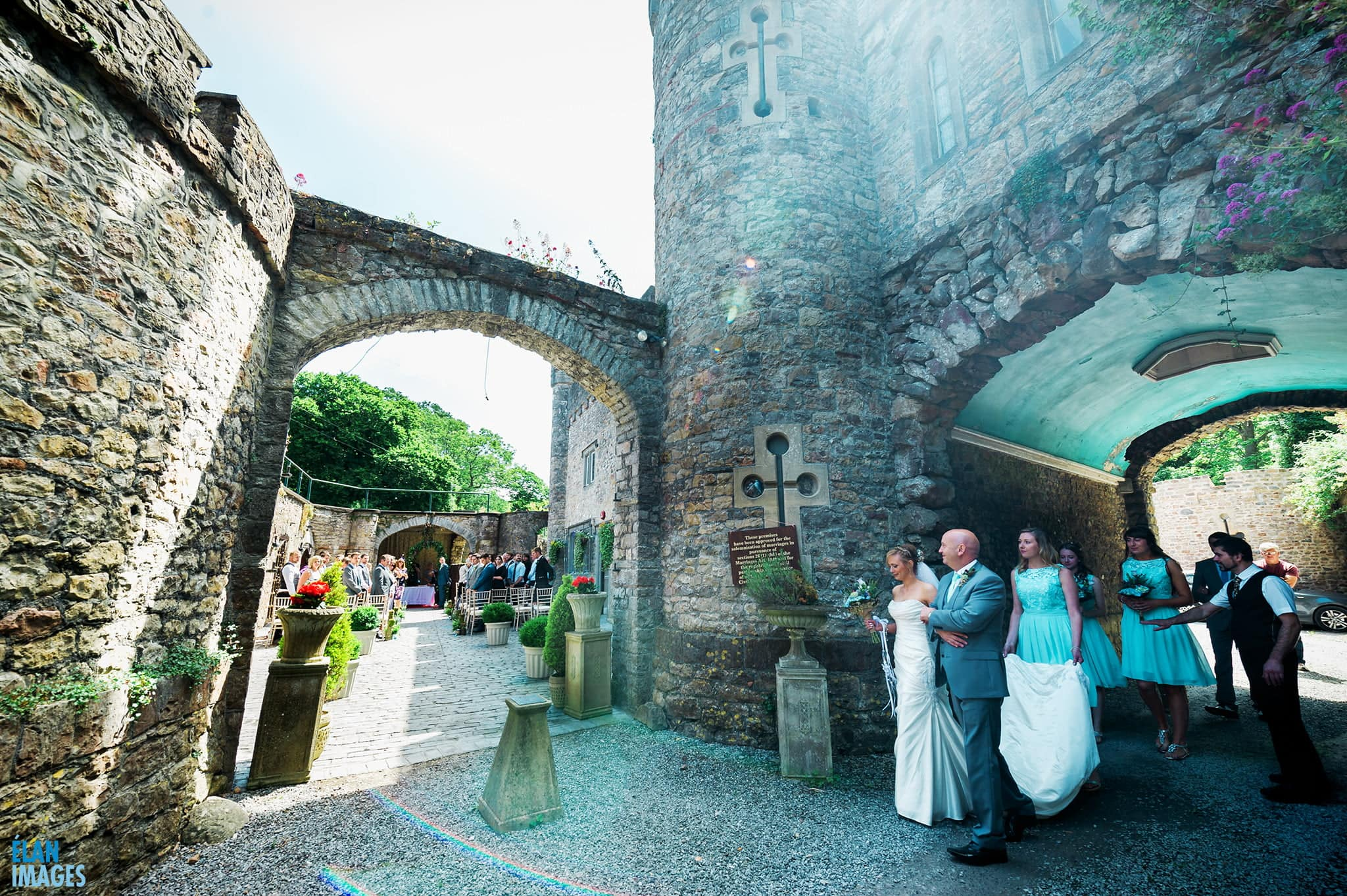 Wedding at Banwell Castle, Somerset 4